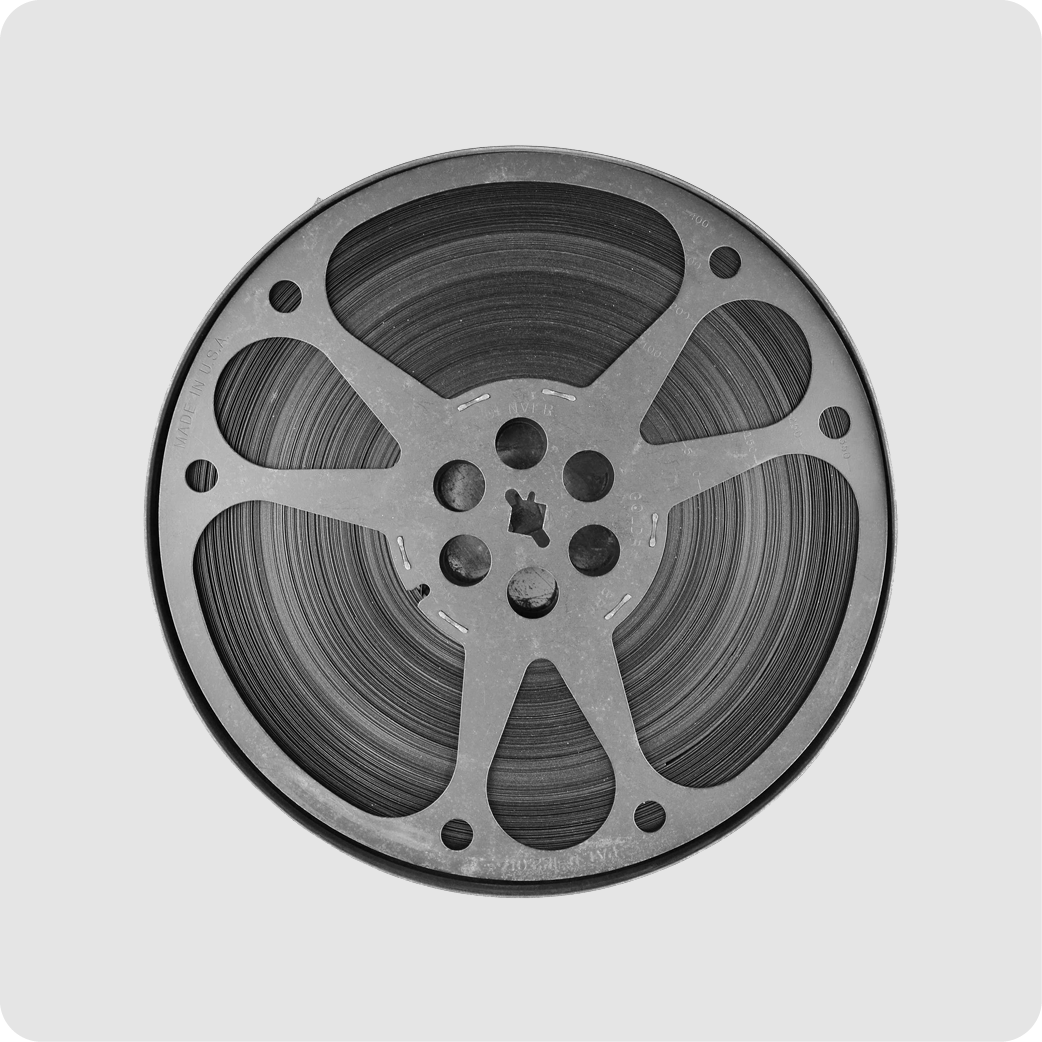 Digitize Film Reels - Product Photo