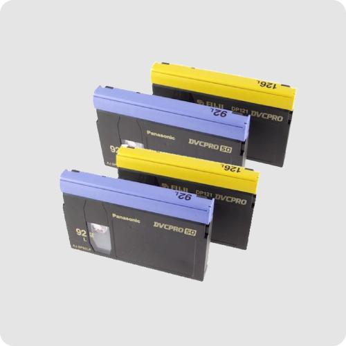 DVC Pro 25 tape, DVC Pro 50 tape