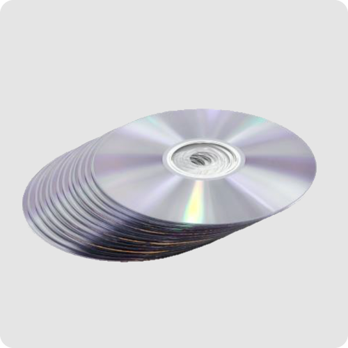 CD Pressing & CD Duplication Product Example - Stack of Blank CDs