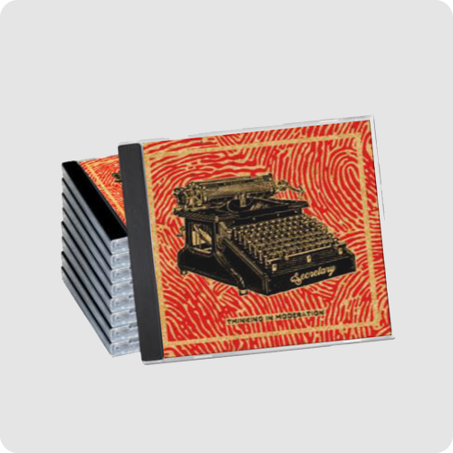 CD Printing Example Image - Printed Front Cover