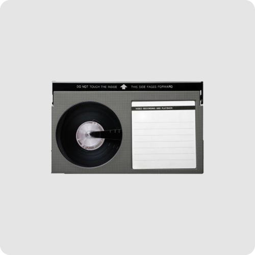 Betamax video tape format