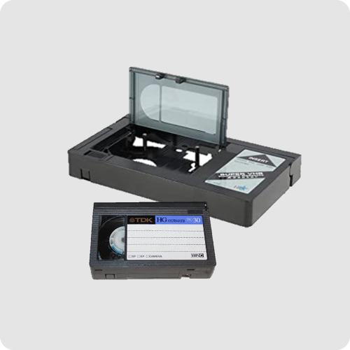 VHS-C video tape format