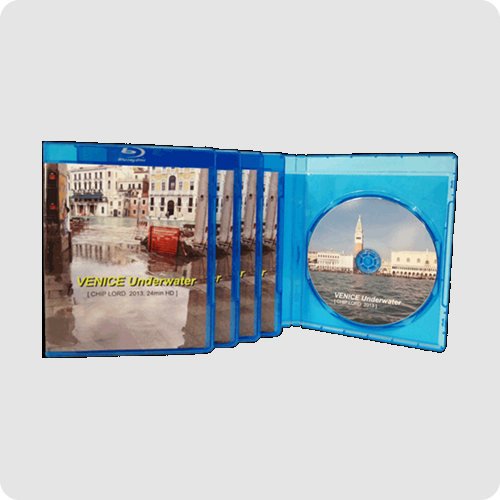 Blu ray packaging example photo