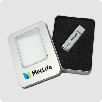 USB flash drive packaging image - outer box