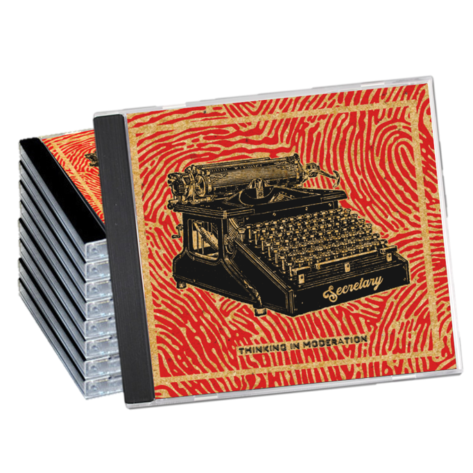 Custom CD retail packaging, including jewel cases (pictured)