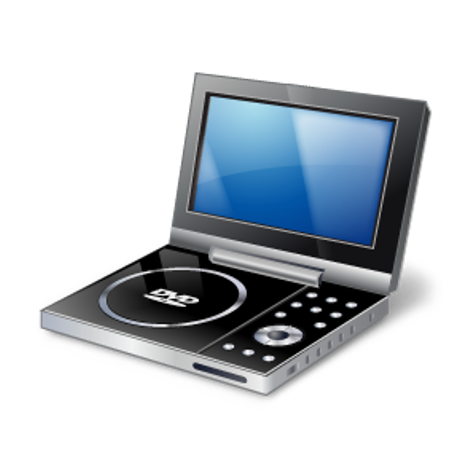 DVD player and screen