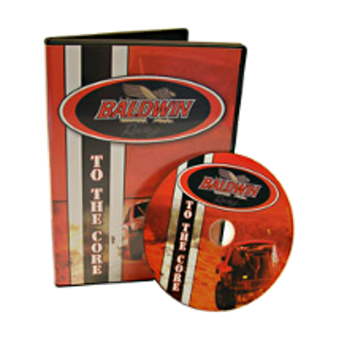 Printed DVD with DVD case packaging