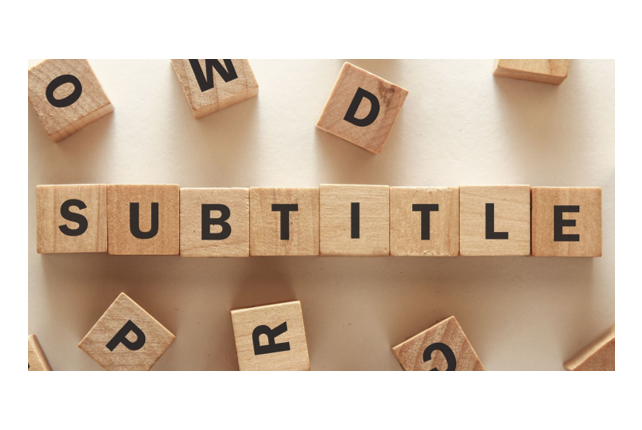 use video authoring to add subtitles, captions and foreign language or audio tracks