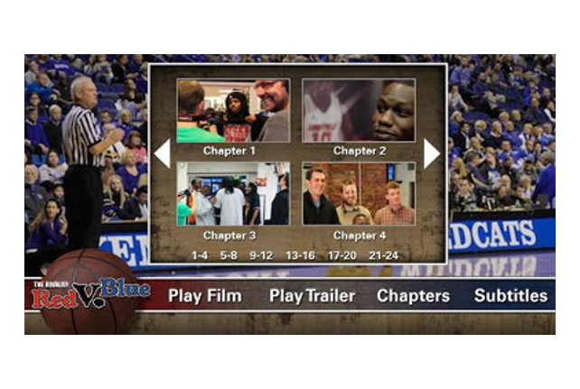 DVD authoring service encodes and adds menus to your video