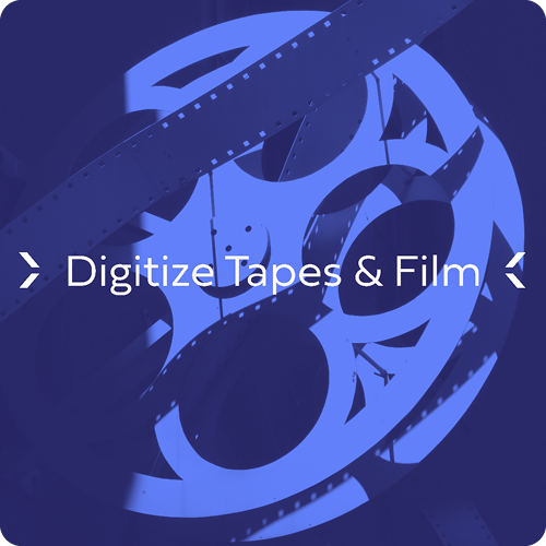 Digitize Tapes and Film with Mastertrack - Category Image